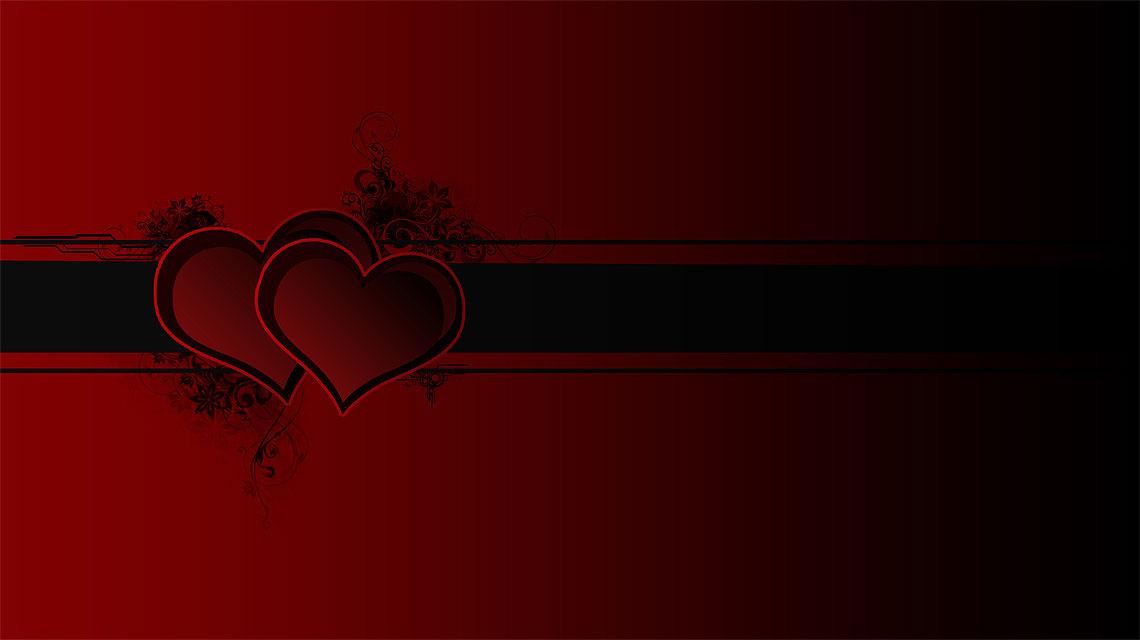 Valentinstag-Karte