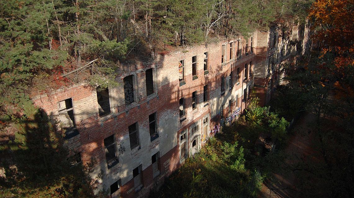 Beelitzer-Heilstätten-Ruine