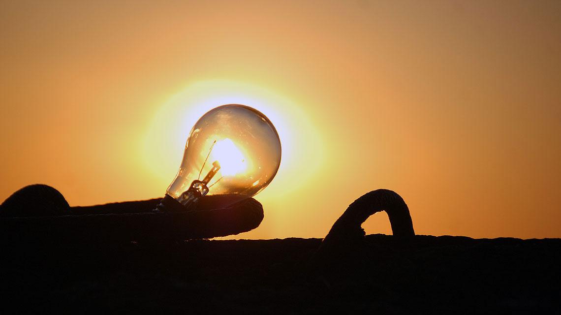 Energiewende-Sonne