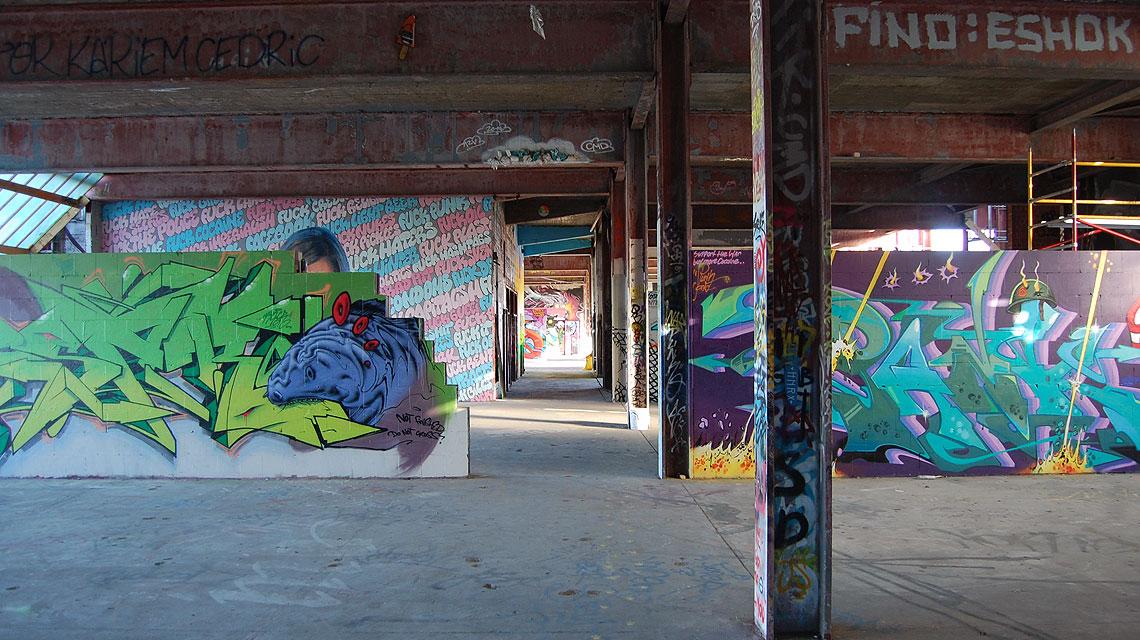 Teufelsberg-Berlin-Graffiti-Etage-1