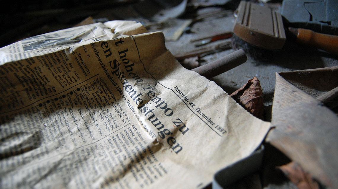 Verlassenes-Haus-Berlin-Zeitung